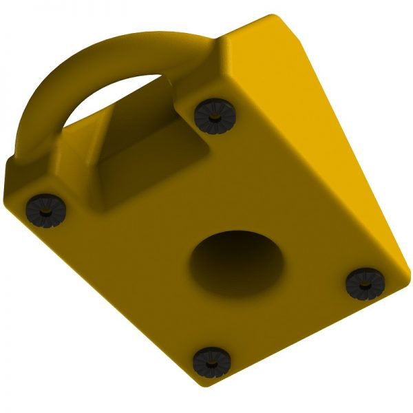 Wheel Chock for car - under view