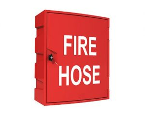 Single Door Fire Hose Reel Cabinet