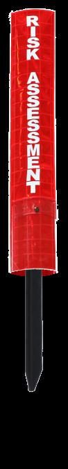 Reflective Picket Pocket for PVC Picket