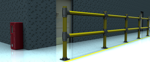 PVC fence systems - Factory Safety