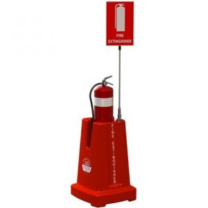 Fire Extinguisher Stand for Boats